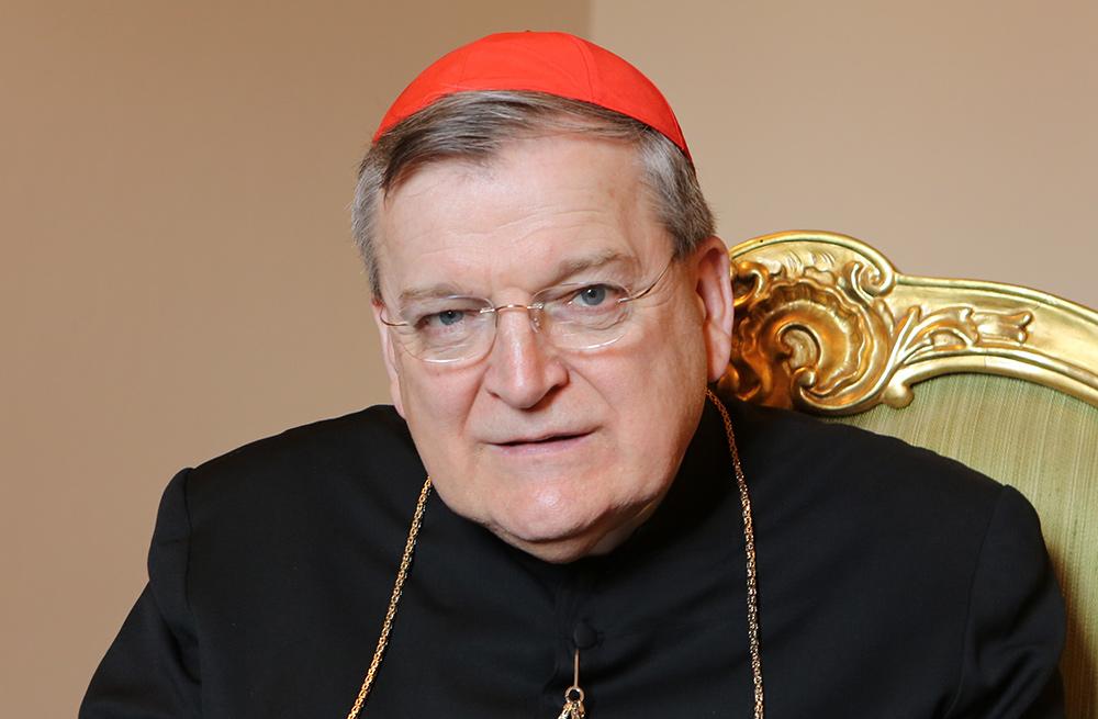 His Eminence Raymond Leo Cardinal Burke